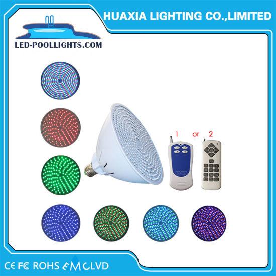 China 24w 12v 110v 220v Color Changing Par56 E27 Pool Light Bulb Led
