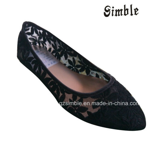 fashion Casual Leisure Women Flat Ballerina Party Shoes