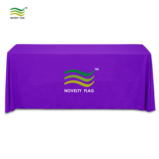 6′ Full Color Table Throw, Table Cover, Table Cloth pictures & photos
