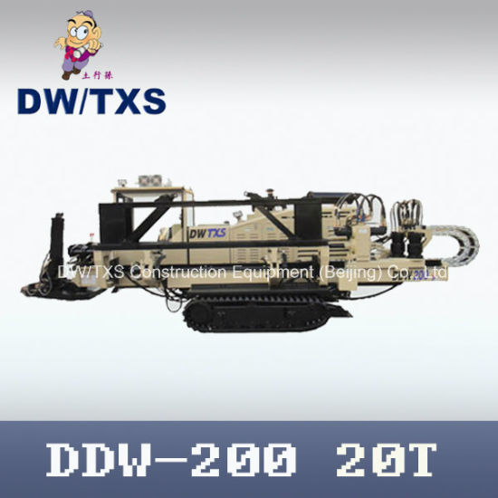 Trenchless Drilling Machine, Horizontal Directional Drilling Rig, Ddw-200