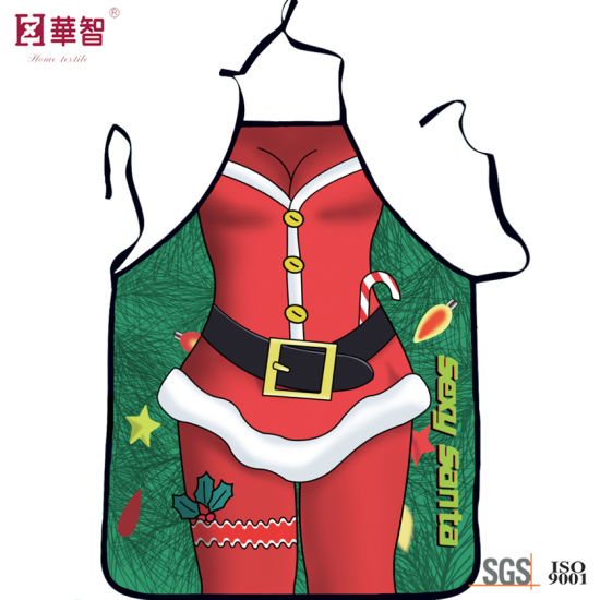 Digital Printed Christmas Apron pictures & photos