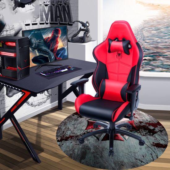Custom Printed High Quality Rubber Anti, Round Gaming Chair Mat