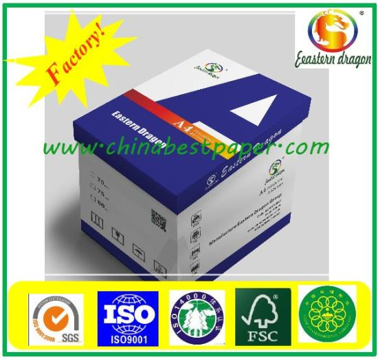 100% Wood Pulp Copy Paper/A4 paper/Office paper