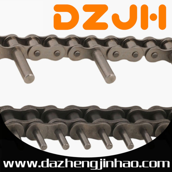 Short Pitch Roller Chains with Extended Pin Attachments