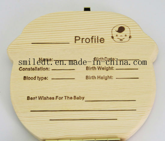 Baby Teeth Wooden Storage Box pictures & photos