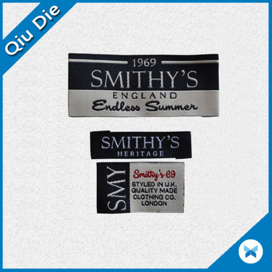 8123b76e9 Durable Woven or Printed Custom T-Shirt Labels and Tags pictures & photos