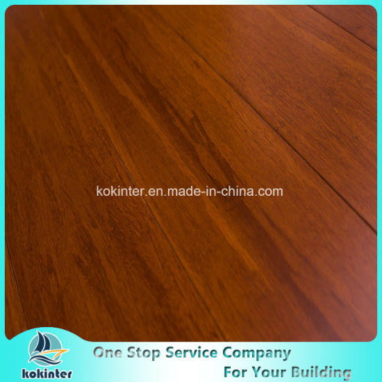 First Grade and Super Quality Coffee Strand Woven Bamboo Flooring in Cheapest Price pictures & photos