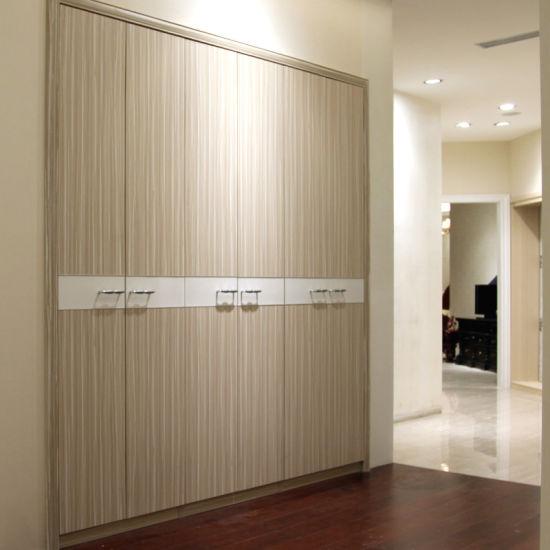 China Oppein Bedroom Furniture Swing Doors Built-in MDF Wardrobes ...