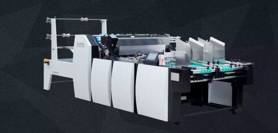 BOPP/OPP Film Double Line Window Patching Machine Manufacturer (GK-1080T)