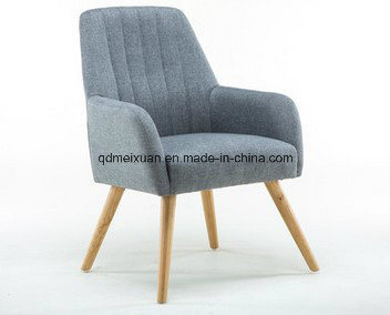 Leisure Artical a Single Cloth Art Sofa Chair Solid Wood Hotel Booth Coffee Restaurant Chairs (M-X3391) pictures & photos