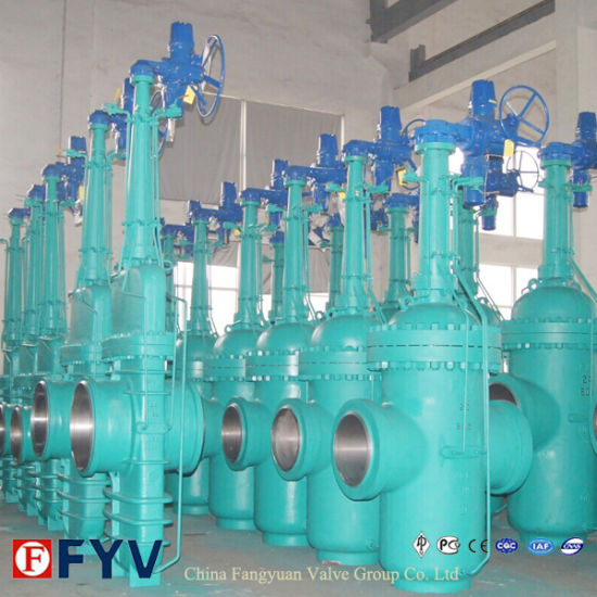API 6D Stock 150lbs Flat Gate Valve pictures & photos