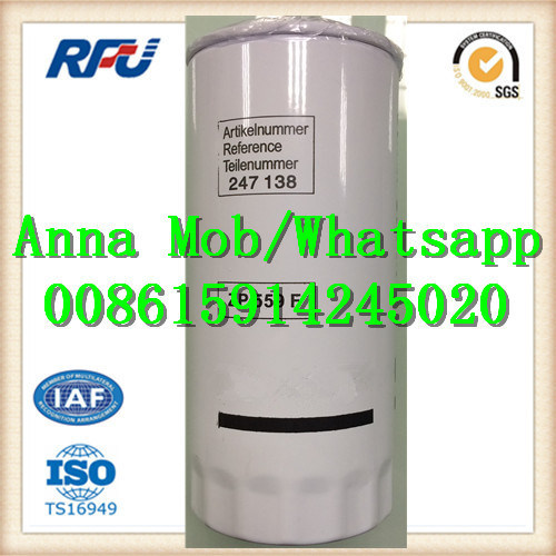 Zp559f High Quality Fuel Filter for Daf (ZP559F, 247138) pictures & photos