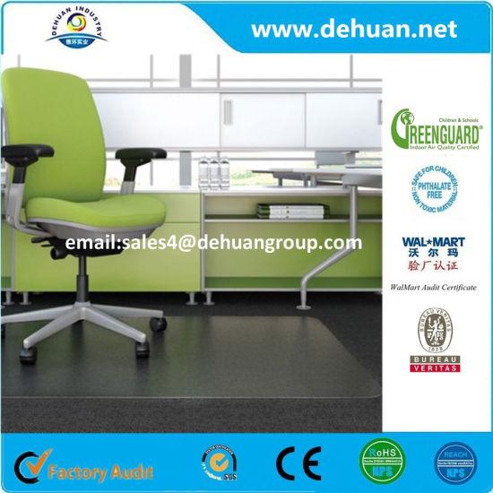 Pvc Chair Mat For Hard Floors Clear Multi Purpose Floor Protector