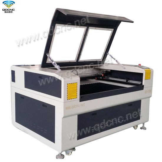 CNC CO2 Laser Cutting Engraving Machine with Size 1300mm*900mm Qd-1390