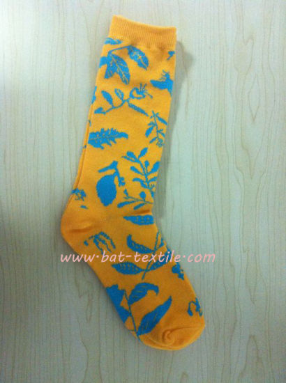 Women Cotton Skateboard Sport Sock pictures & photos