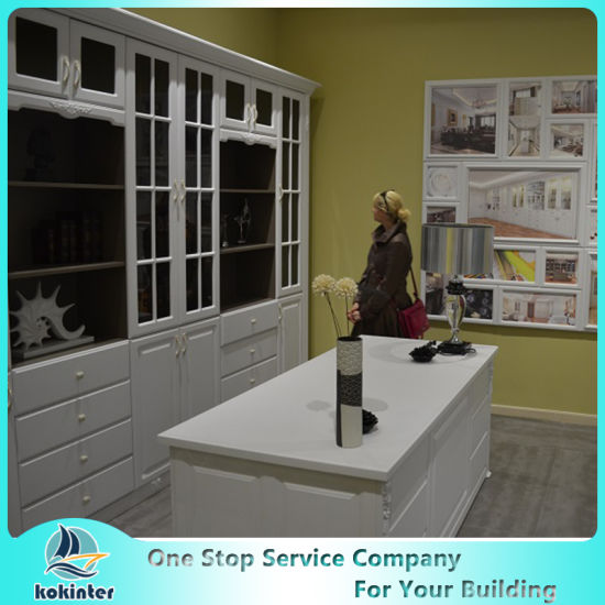 Modern Modular Lacquer and Acrylic Kitchen Cabinet pictures & photos