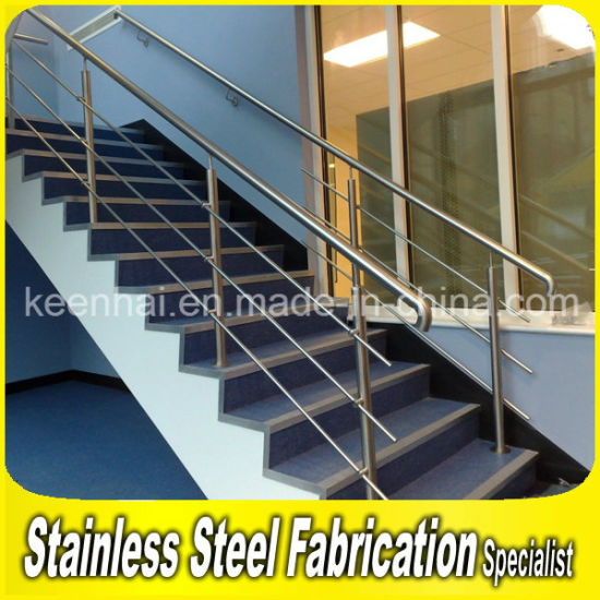 Residential Indoor Stainless Steel Balcony Stair Handrail for Staircases pictures & photos