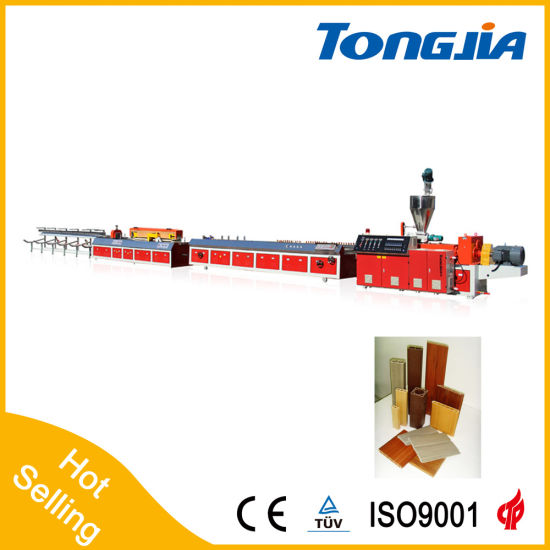 Wood Plastic PVC Profile Production Line (JG-MSX) pictures & photos