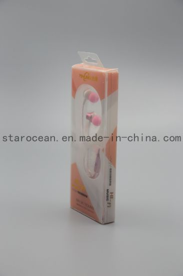 Headset Blister and Folding Box Packaging for Electronics pictures & photos