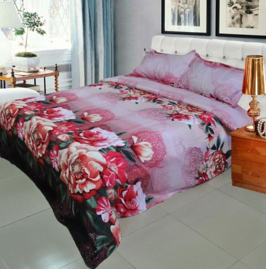 Luxury Printed 4PCS King Size 3D Bedding Set pictures & photos