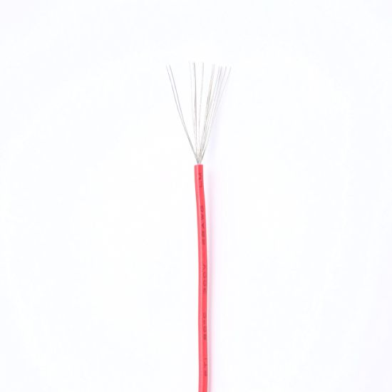 CE RoHS PVC Wire UL1007 24AWG 20AWG 10p 8p Rainbow Cable Flat Ribbon Wire PVC Insulated Copper Thinned Wire Electrical Cable