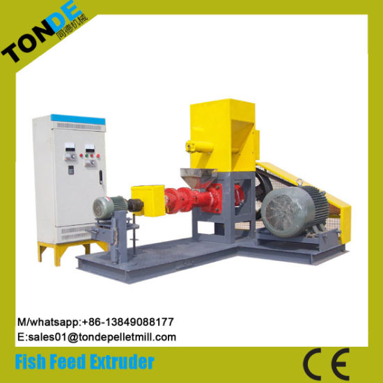 Ce Screw Fish Pet Dog Feed Pellet Processing Line Extruder pictures & photos