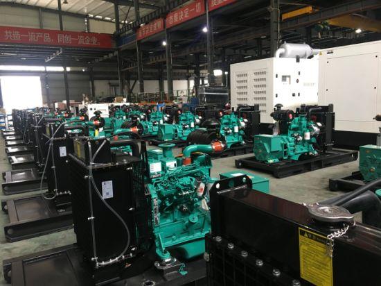 Open Type 50kw Cummins Diesel Generator Sets