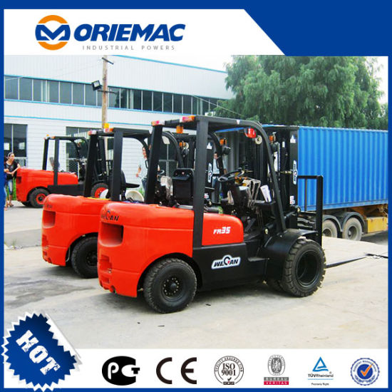 3.5ton China Manual New Diesel Forklift with Ce and ISO Cpcd35fr pictures & photos