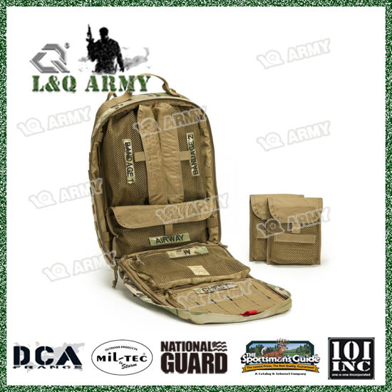 Military First Aid Kit Bag Medical Backpack