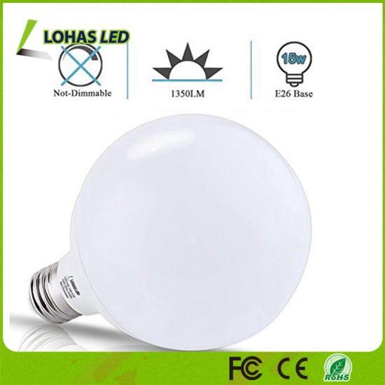 100 Watt Equivalent Led Bulbs 15w Warm White 2700k E26 G30 Globe Lights Bulb For Home Lighting
