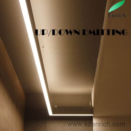 China up and Down Emitting LED Linear Light for Bedroom Wall Mounted ...