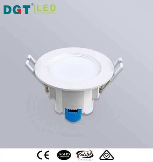 Hot 5W Plastic SMD 2835 Recessed Indoor LED Downlight pictures & photos