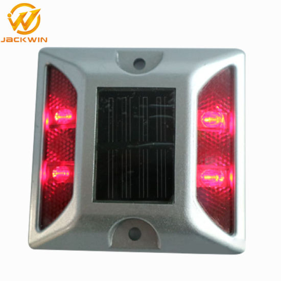 Waterproof Cat Eye Reflective LED Aluminum Solar Road Stud (JW-12D) pictures & photos