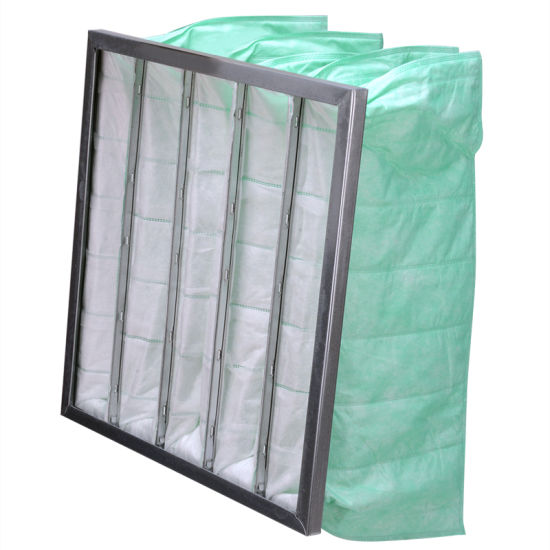 74f61f24e06 China F6 Extended Surface Multi-Pocket Bag Filters - China Pocket ...