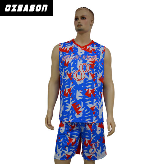 Best Design Camo Breathable Dri Fit Basketball Jersey Shorts (BK022)  pictures   photos 6df40a4a4