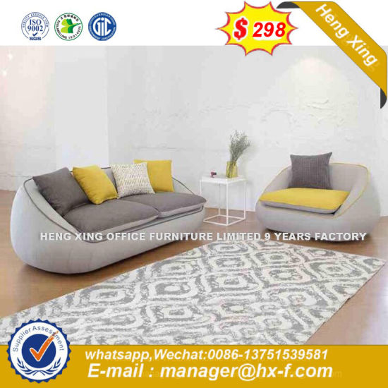 Modern Wooden Corner Leather Sofa (HX-8NR2149) pictures & photos