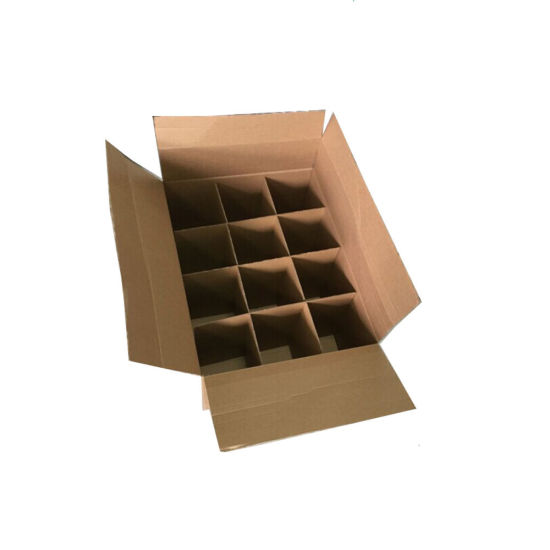 Heavy Duty Corrugated Wine Packing Box Carton pictures & photos