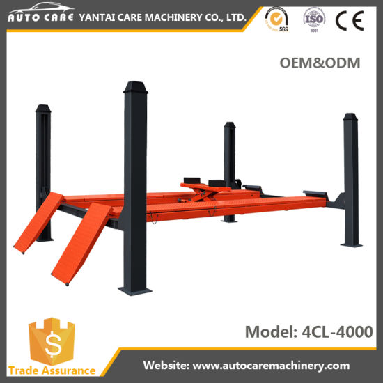 Car Alignment Price >> China Factory Price 4 Post Car Alignment Lift With Second