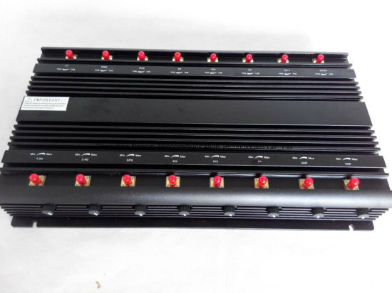 16-Channel Desktop High Power Cellular Phone Signal Jammer/Blocker pictures & photos