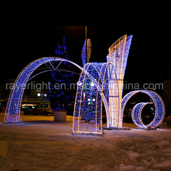 holiday time decoration shopping mall led christmas decorative lights