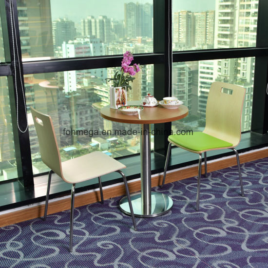 China Leisure Style Small Size Table Chair Set For Free Talk Time