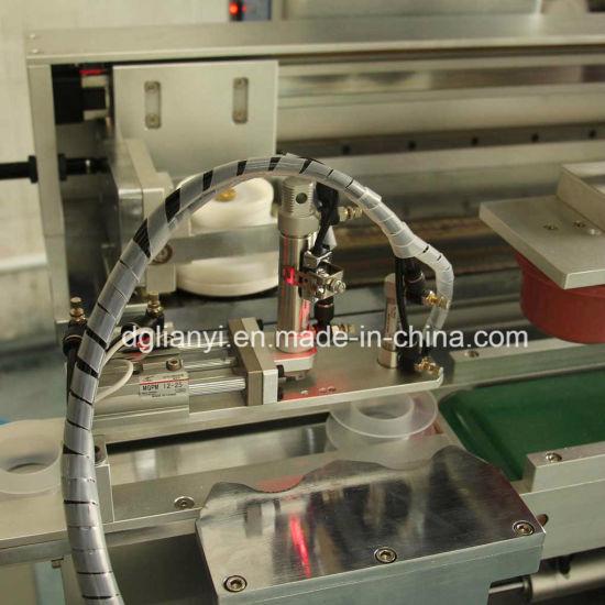 China Automatic PTFE Gaflon Tape One Color Pad Printer Machine