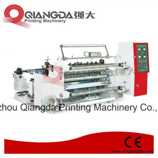 Good Quality Horizontal Plastic/Paper Slitter Machine Manufacturer (QFJ-A/1300)