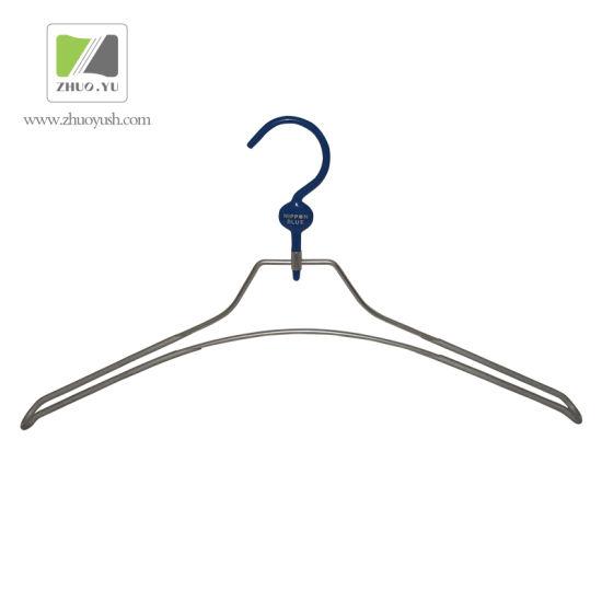 PVC Coated Metal Cloth Hanger / Jacket Hanger