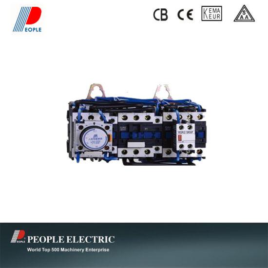 Star-Delta Reduced Voltage Starter for AC Motor