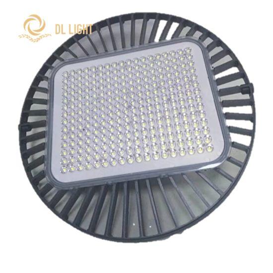 AC85-265V Efficency 170lm/W Industrial UFO LED High Bay Light 50W/100W/120W/150W/200W/250W/300W
