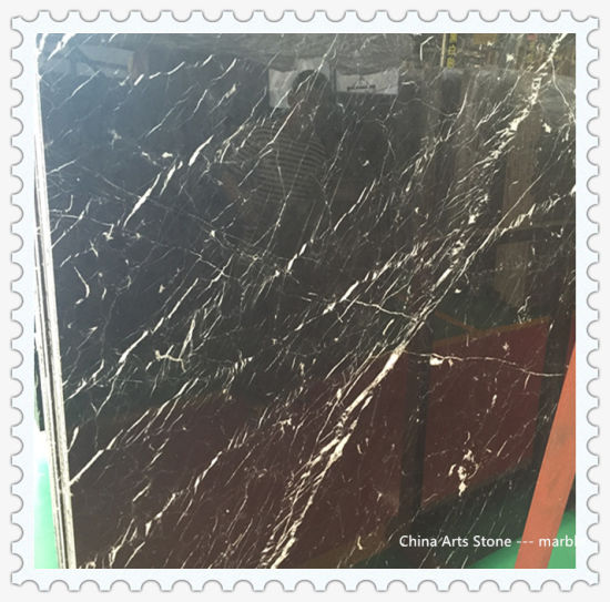 Chinese White and Black Marble/ Granite Slab for Tile and Countertop pictures & photos