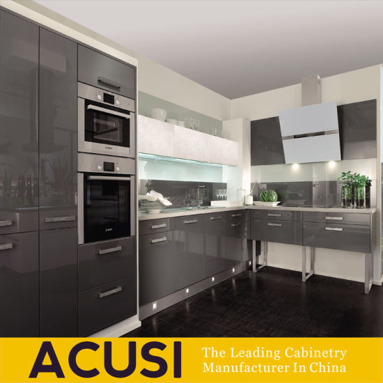 Wholesale Customized Lacquer Modern MDF Kitchen Cabinet (ACS2-L122)