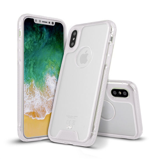 Ultra Thin Plastic Phone Case 360 Degree Full Cover Cases for iPhone X