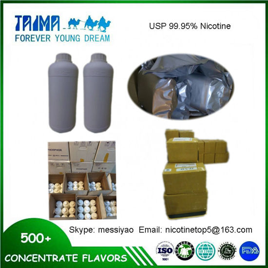China USP Grade 1000mg/Ml Nicotine Used for E-Liquid - China